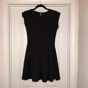 Black skater skirt dress size small